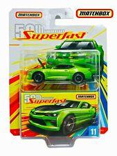 Matchbox 50th Anniversary SuperFast 17 Chevy Camaro