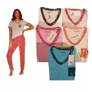 pyjama femme Sinéquanone 100% coton manche courte