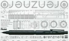 Pentel Mechanical latest Pencil Orenznero Black 0.3mm PP3003-A Free Shipping