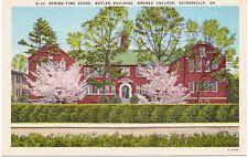Brenau College, Butler Building, Gainesville, Georgia, Spring - Postcard