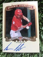 2012 Goodwin Champions Aaron Altherr auto autograph signed card