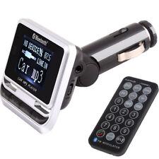 E02 KFZ FM Transmitter Freisprechanlage Bluetooth BT Smartphone USB Micro SD AUX