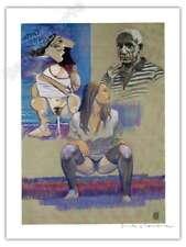 Affiche Milo MANARA Hommage Picasso signé 28,5x38 cm