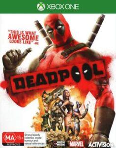Deadpool XBOX ONE GOOD FREE POST+TRACKING (RARE)