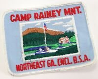 Vintage Camp Rainey Mnt Northwest Georgia Council Boy Scouts America Camp Patch