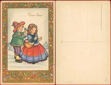Buon Anno con bambini cartolina