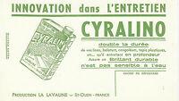 Buvard Vintage  Polish  Cyralino