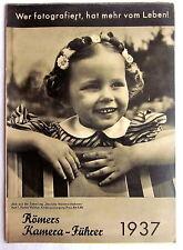 (s29) - publicidad folleto-romano cámara-líder 1937