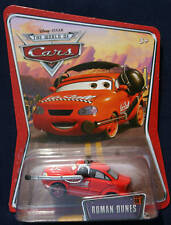 DISNEY PIXAR CARS ROMAN DUNES NO STALL CREW CHIEF  MIP