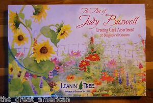 20 Leanin Tree Greeted Greeting Box Cards The Art of Judy Buswell All Occasions