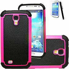 Colorful Combo Rubber Hybrid  Hard Case Cover for Samsung Galaxy S IV S4 i9500