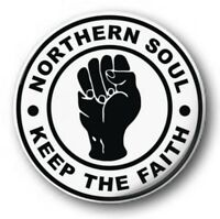NORTHERN SOUL - 1 inch / 25mm Button Badge - Weller Jam Who Scooter Mod