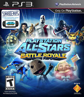 Playstation All-Stars Battle Royale Sony PS3 Playstation 3 Videogame