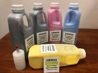 5 Toner Refill for Epson Aculaser C9200, C9200N, C9200DN, C9200dtn (Refill only)