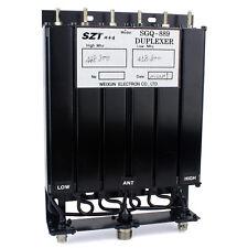 25W 380-470mhz UHF 6 Cavity Duplexer per Motorola Ripetitore enclosurer SL16 & BNC