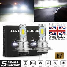 2X H7 LED Headlight Fog Light Bulbs Super White Xenon Hi-Low Beam Car Headlamp