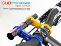 NEW GUB G-329 Carbon Bike Bicycle Handle Bar Extender Mount Lamp Bracket Holder