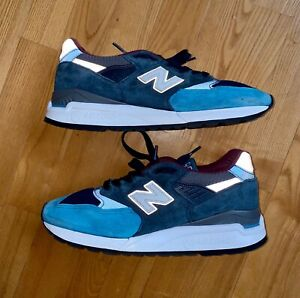 """New Balance M998 TCA BLUE/GRAY ABZORB """"Made In USA"""" Men's Size 8, EUR 41.5"""