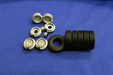 1:50 Scale Wsi Scania Wheels & Tyre's 4x2. Ideal For Code 3 Work.* Brand New *