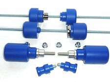 HUSQVARNA 701 ENDURO SET OF 8 CRASH MUSHROOMS PROTECTORS SLIDERS BOBBINS S5R