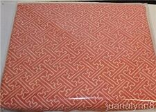 "RALPH LAUREN Villa Camelia Fretwork FABRIC NEW 18"" X 35"""