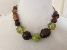 VINTAGE CHUNKY BEAD NECKLACE