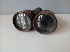 Vintage Brass Binoculars - Found Condition