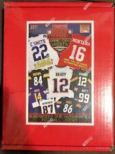 2018 NFL TRISTAR AUTOGRAPH FOOTBALL JERSEY RED BOX LIVE BREAK -RANDOM TEAM-2265