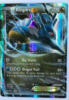 Kingdra EX ULTRA RARE 73/124 XY Fates Collide Pokemon card TCG NM HOLO
