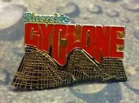 Riverside Cyclone Roller Coaster pin badge