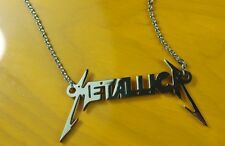 Hiphop band Metallica logo necklace titanium steel cool gift man