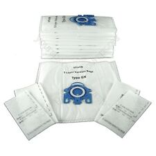Pack Of 10 Miele S381 Vacuum Bags Type GN *Free Delivery*