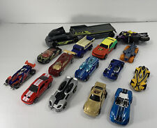 Hot Wheels Used Mixed Cars & Other Vehicles Lot of 15