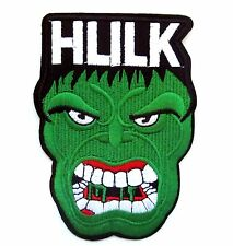 Incredible Hulk Iron On Patch- Marvel Avengers Shield Superhero Appliques Craft