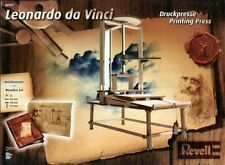 Revell 00507 Leonardo da Vinci Imprenta 1/12 Escala Modelo Kit De Madera
