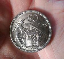 Moneda 50 pesetas Franco 1957 *58 SC