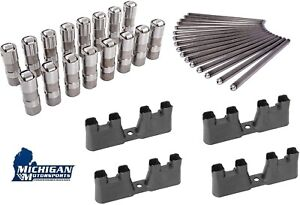 LS7 Lifters Set, Guide Trays, 7.400 Pushrods 4.8, 5.3, 5.7, 6.0, 6.2, 7.0