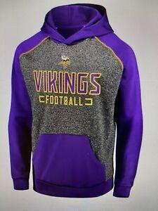 Minnesota Vikings NFL Men's Fanatics Chiller Fleece Hoodie Size Medium - NWT