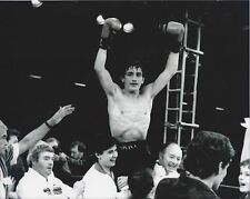 Barry McGuigan 8X10 Photo Boxing Picture In Victory
