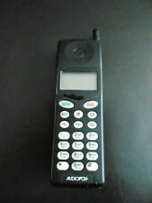VINTAGE AUDIOVOX MVX-430 CELLPHONE BLACK with Leather Case Included CLASSIC CELL