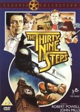The 39 Steps 1978 Mystery Thriller Robert Powell DVD Region 2