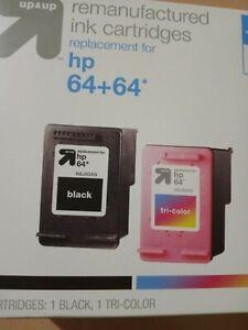 HP 64 Black/64 Tri-Color 2-Pack Ink Cartridge - Up&Up