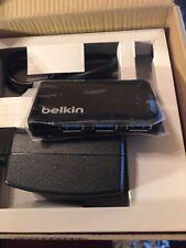 Belkin 4-Port Super Speed USB3.0 Hub - Black
