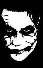 The Joker Vinyl Decal White 4inx55in 118c