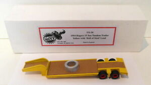 US Model Mint 1/43 Scale US34 -1954 Rogers 15 Ton Tandem Trailer With Steel Load