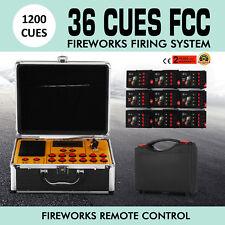 36 Cues Fireworks Firing Control System Igniters Digital Wireless Professional