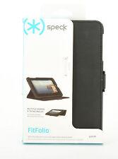 Speck FitFolio Folio Leather Stand Case Cover for Verizon ELLIPSIS 7 (Black) New