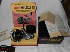 Vintage Garcia Mitchell 300 Spinning Reel with Extra Spool , Box & Papers