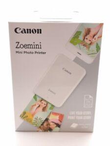 Canon Zoemini Mini Photo Printer, Portable Colour Photo Printer ZINK Technology