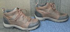 New listing Mens Ariat Terrain H2O Brown Leather Ankle Hiking Boots sz 8.5 EE